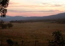 Sunset over Beloka Valley, VIC